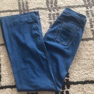 Blank NYC Sz 29 Super Flare High Waisted Pants